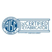 aisc certified fabricator 1 180x180 - Home